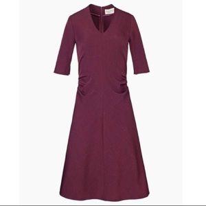 MM Lafleur The Caroline Dress - Claret